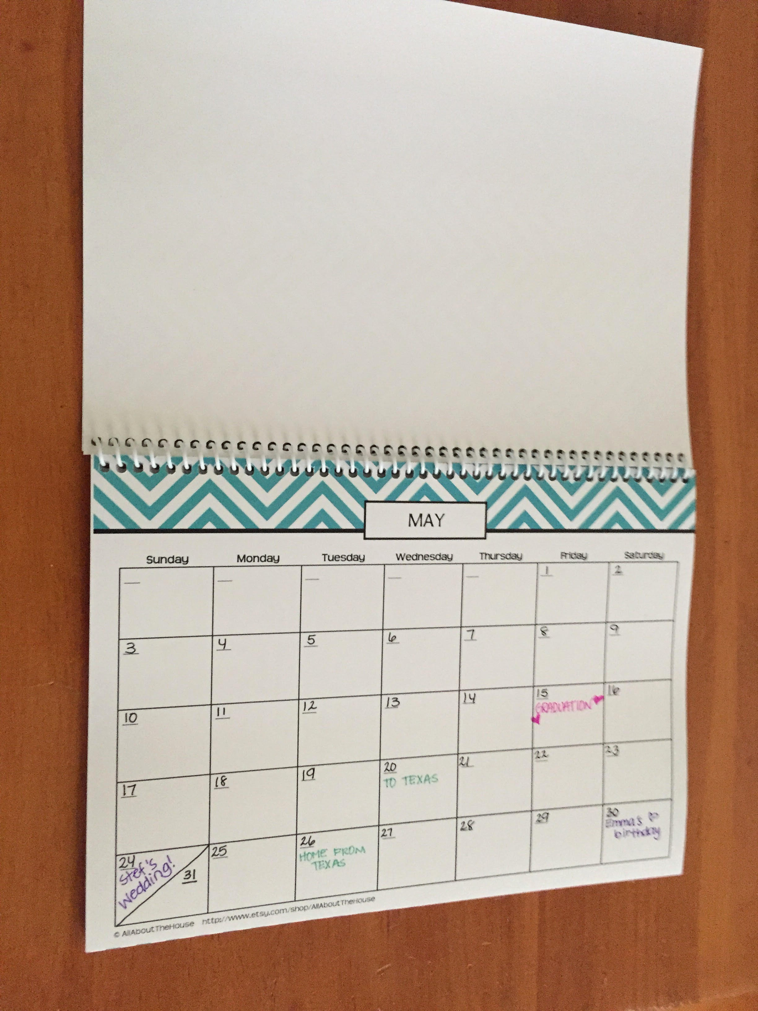 Create Your Own Weekly Calendar Awesome Chevron Make Your Own Planner – Monthly Calendar – Undated