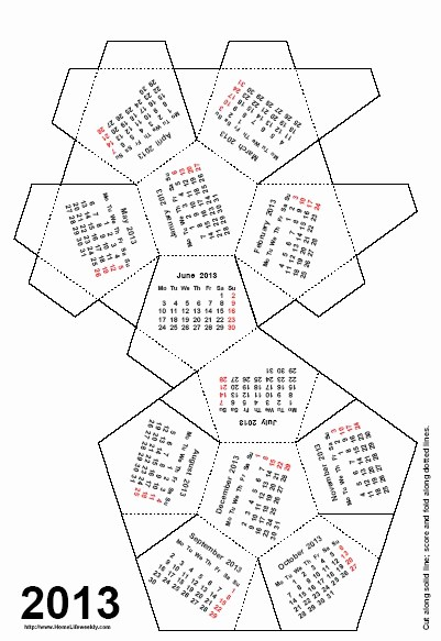 Create Your Own Weekly Calendar Awesome Make Your Own Calendar 2013 Aztec Line