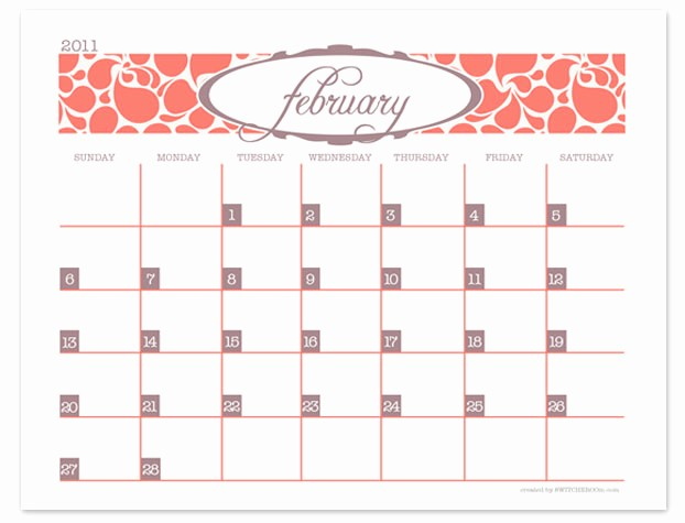 Create Your Own Weekly Calendar Awesome Make Your Own Printable Monthly Calendar Free Printable