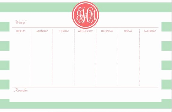 Create Your Own Weekly Calendar Best Of Personalized Weekly Desk Planner 53 Pages Design Your