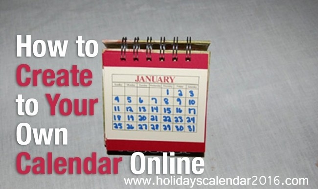 Create Your Own Weekly Calendar Elegant Create Your Own Calendar Line