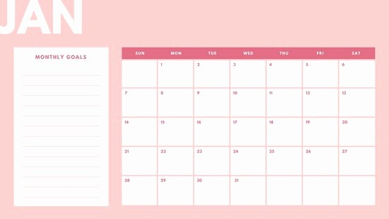 Create Your Own Weekly Calendar Fresh Customize 43 Monthly Calendar Templates Online Canva