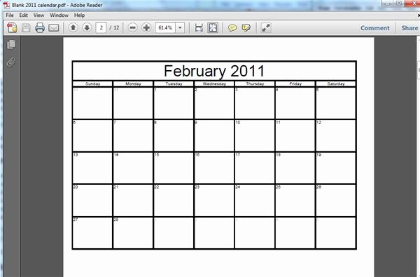 Create Your Own Weekly Calendar Lovely Tutorial On How to Make A Free Printable Blank Calendar