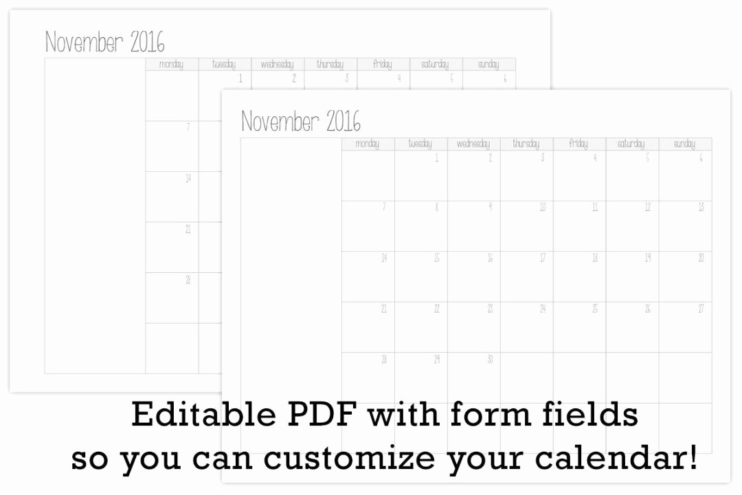 Create Your Own Weekly Calendar Luxury Make Your Own Monthly Calendar Printable