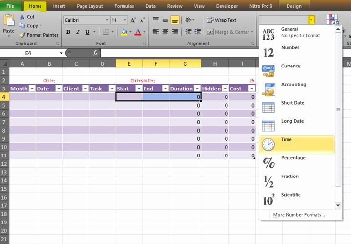 Creating A Timesheet In Excel Best Of How to Create An Hourly Timesheet In Excel New Improved