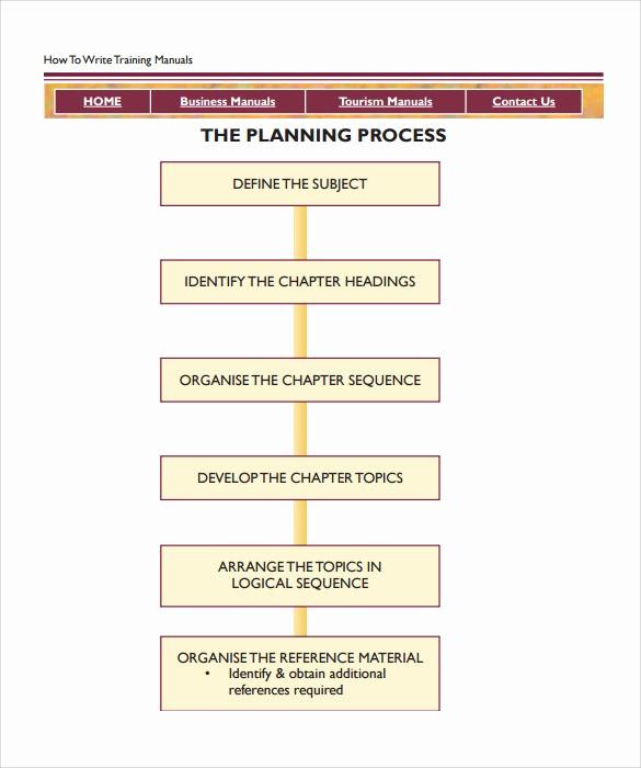 Creating A Training Manual Template Beautiful 11 Training Manual Samples – Pdf