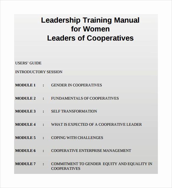 Creating A Training Manual Template Beautiful 9 Sample Training Manual Templates