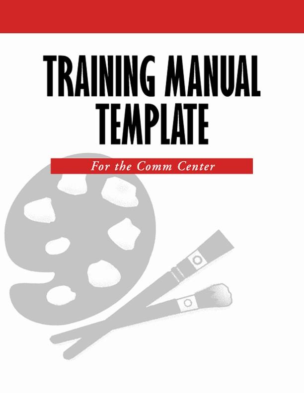 Creating A Training Manual Template Beautiful Create A 911 Training Manual Template