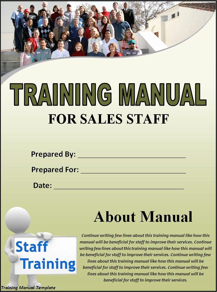 Creating A Training Manual Template Inspirational 5 Free Training Manual Templates Excel Pdf formats