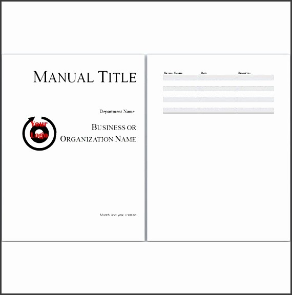 Creating A Training Manual Template New 6 Staff Training Guide Template Sampletemplatess