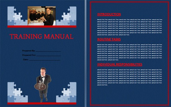 Creating A Training Manual Template New Boring Work Made Easy Free Templates for Creating Manuals