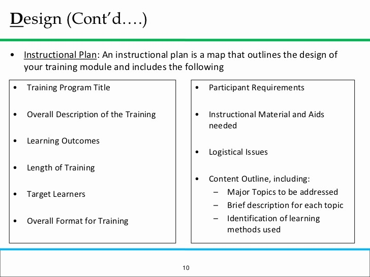 Creating A Training Manual Template New How to Prepare A Basic Training Module