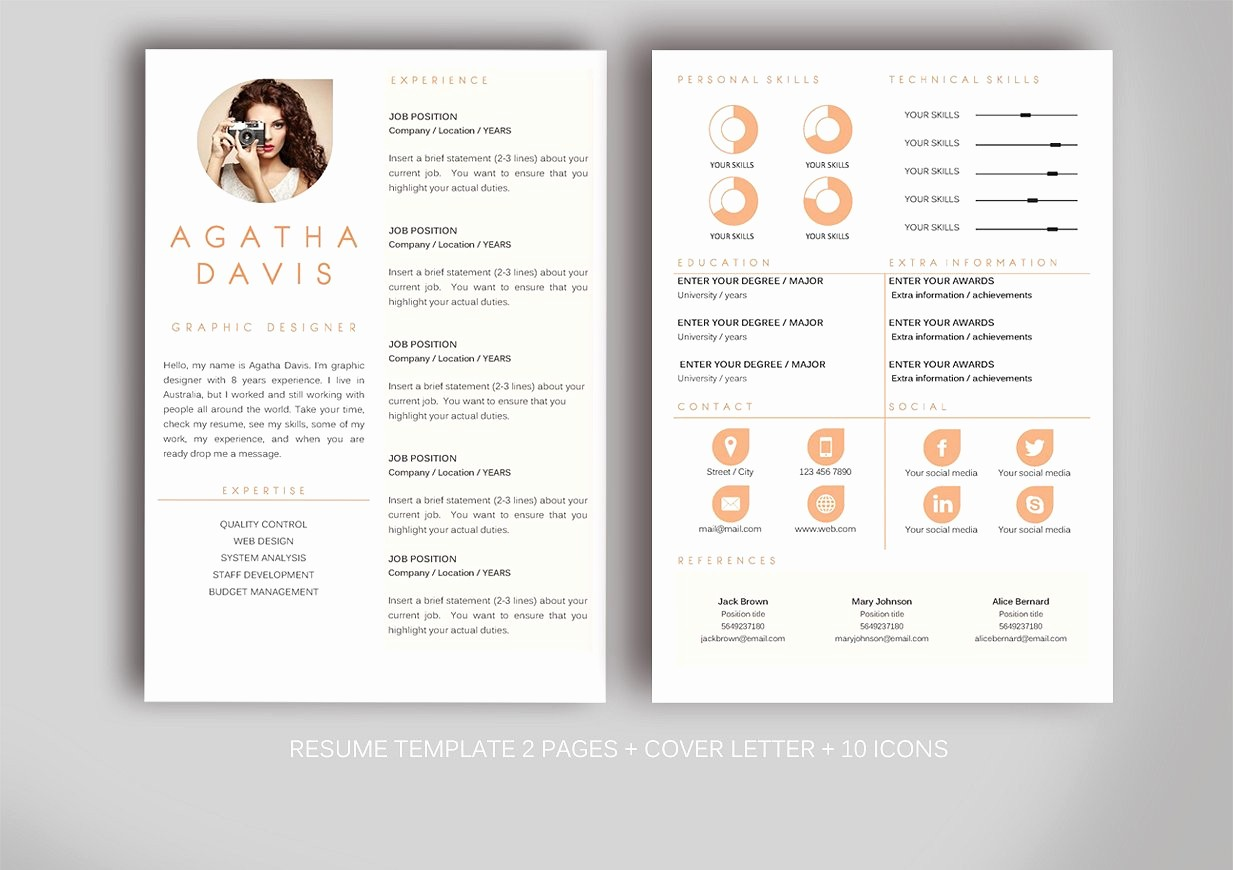 Creative Resume Template for Word Awesome Resume Template for Ms Word Resume Templates Creative