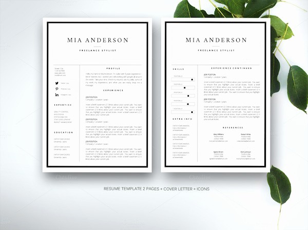 Creative Resume Template for Word Beautiful Creative Résumé Templates that You May Find Hard to