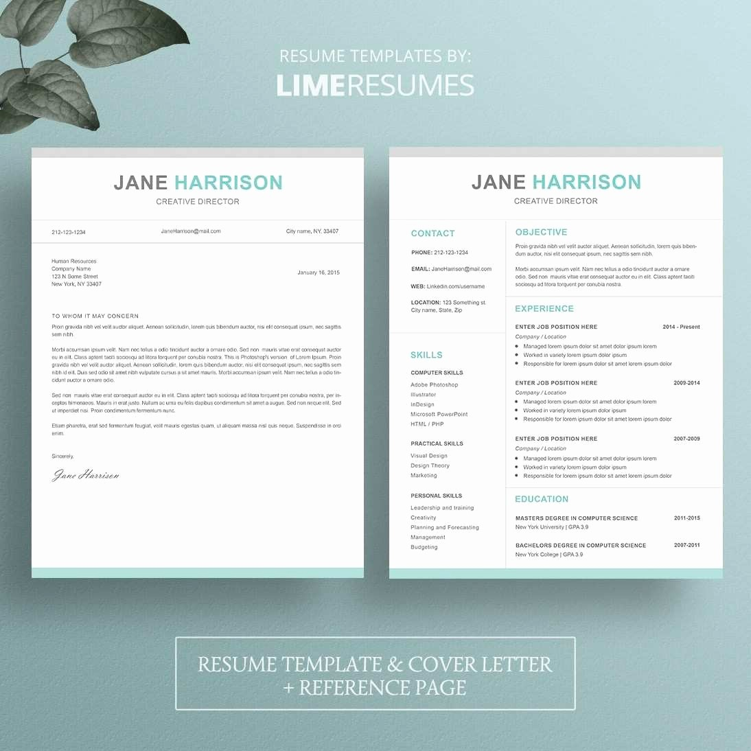 Creative Resume Template for Word Best Of Creative Resume Templates Free Download for Microsoft Word