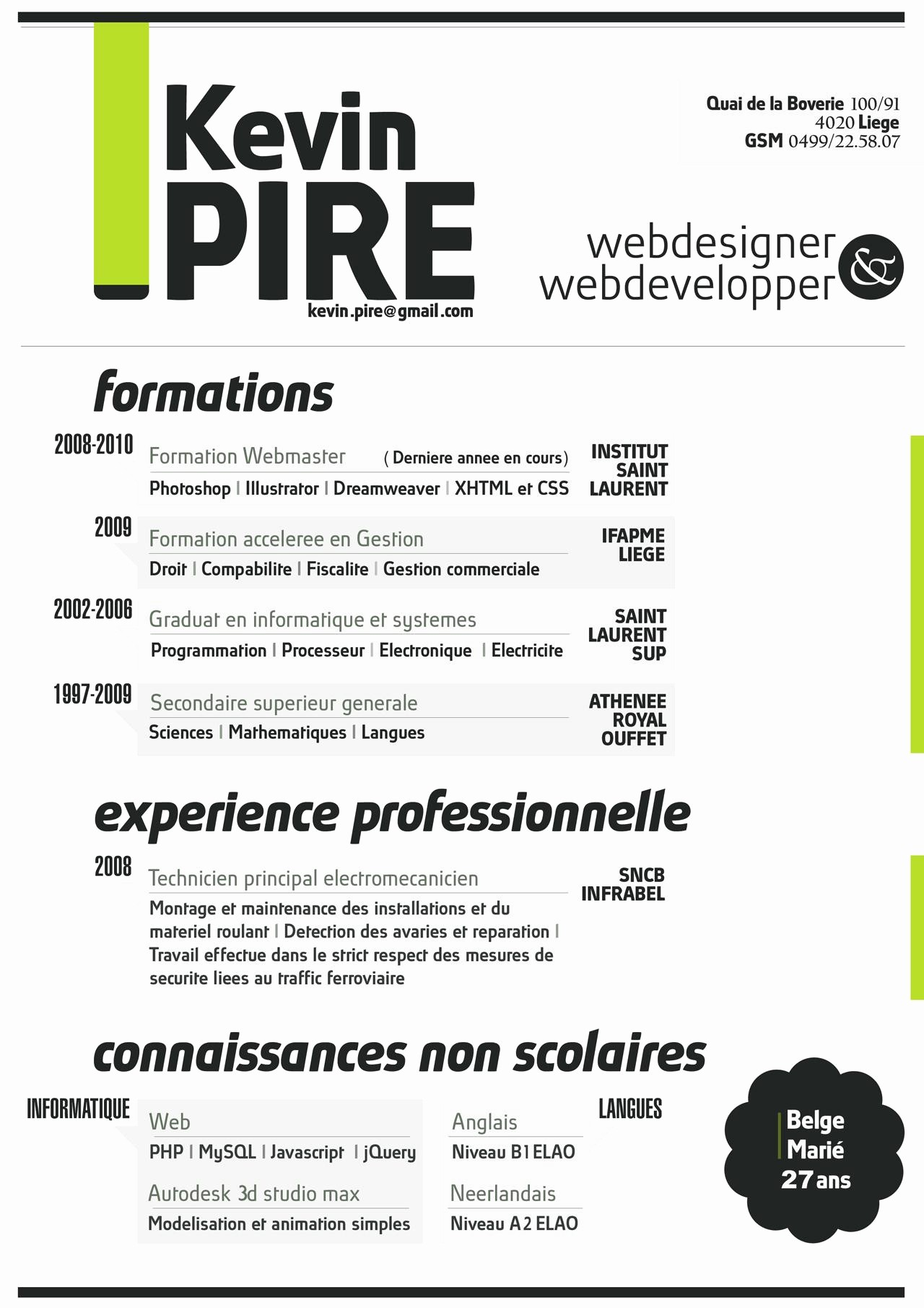 Creative Resume Template for Word Lovely the Most Creative & Beautiful Resume Styles