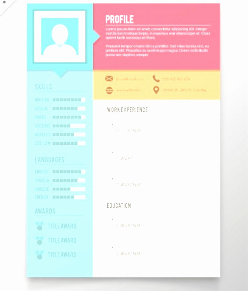 Creative Resume Template Microsoft Word Beautiful 41 Last Creative Resume Templates Free Download for
