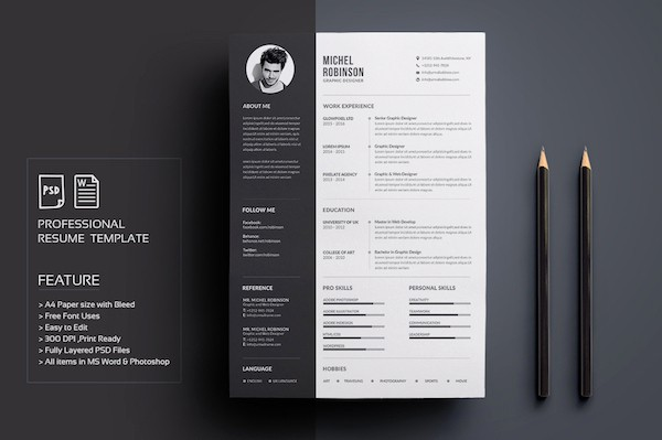 Creative Resume Template Microsoft Word Beautiful Creative Résumé Templates that You May Find Hard to