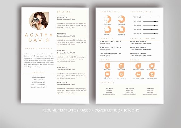 Creative Resume Template Microsoft Word Fresh Resume Template for Ms Word Resume Templates Creative