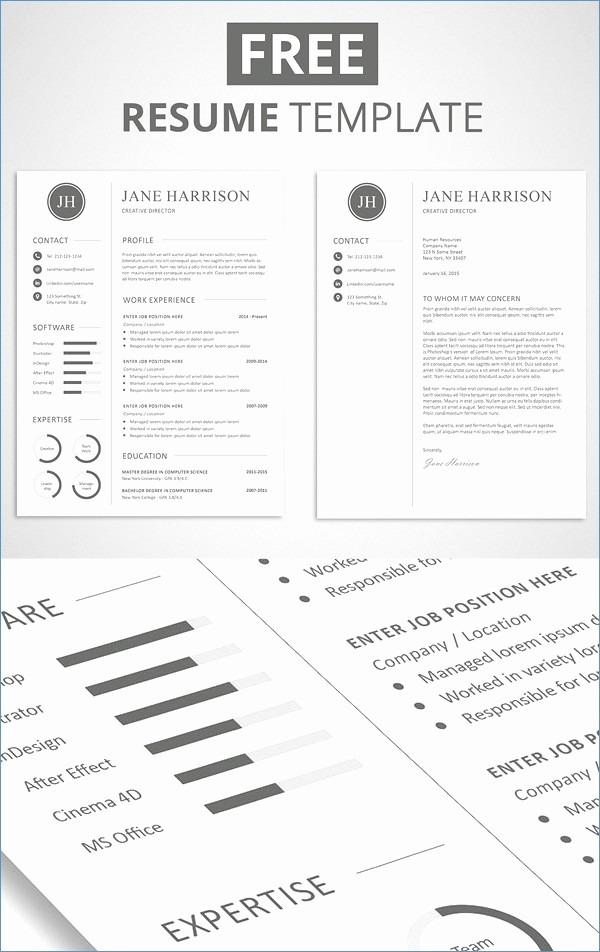Creative Resume Template Microsoft Word Inspirational Free Creative Resume Templates Word