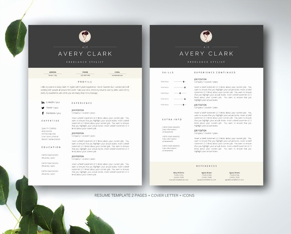 Creative Resume Template Microsoft Word Inspirational Resume Template for Ms Word Resume Templates On Creative