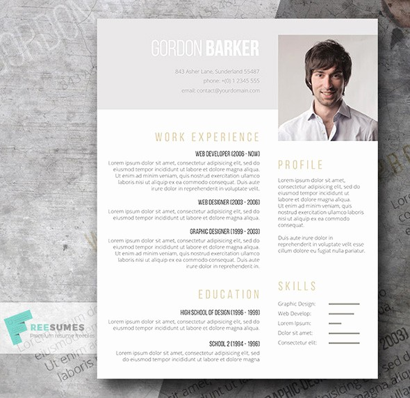 Creative Resume Template Microsoft Word Luxury 21 Stunning Creative Resume Templates