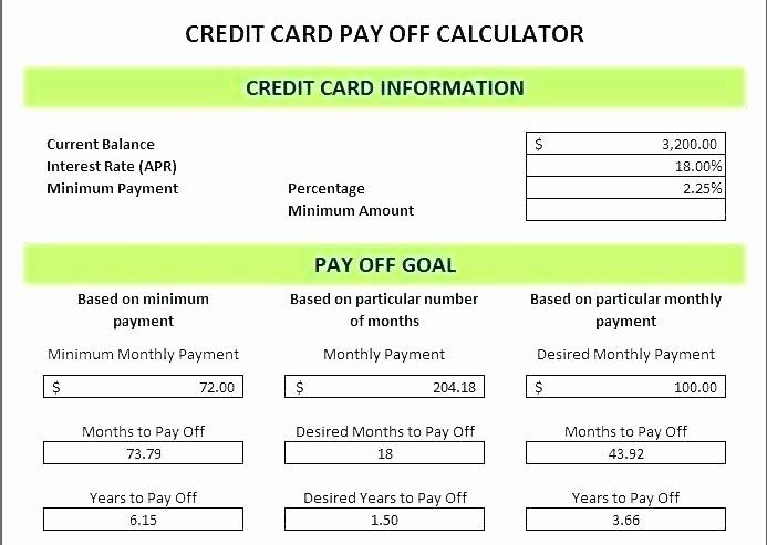 Credit Card Balance Sheet Template Luxury Credit Card Balance Spreadsheet Credit Card Debt Payoff