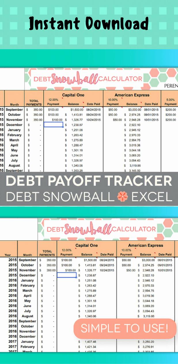 Credit Card Balance Sheet Template Luxury Credit Card Debt Balance Sheet Template