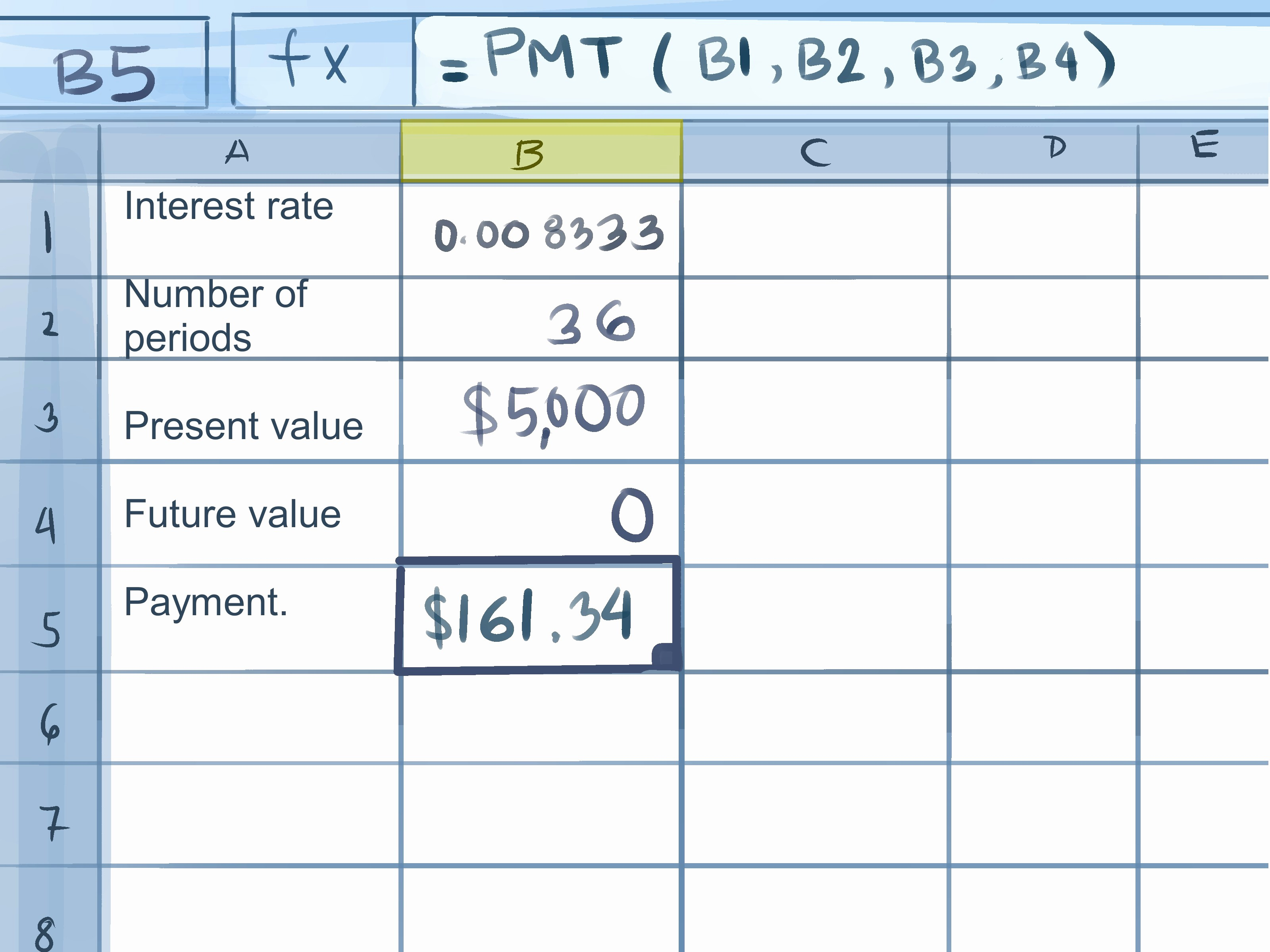 Credit Card Payment Excel Template Best Of How to Calculate Credit Card Payments In Excel 10 Steps