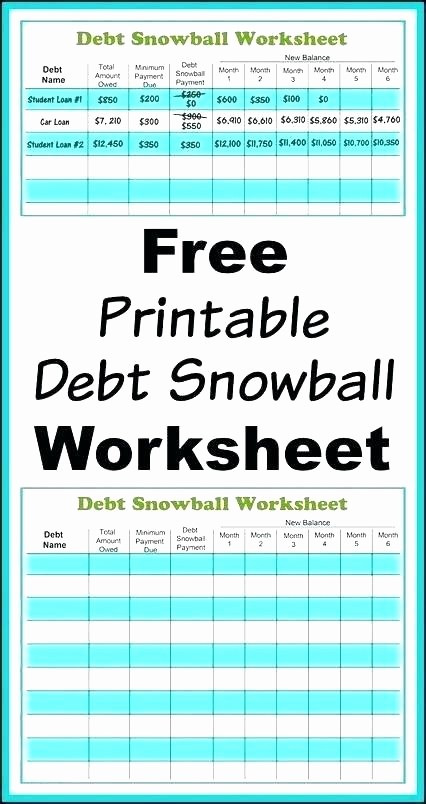 Credit Card Payment Tracking Spreadsheet New Debt Snowball Worksheet Excel Credit Card Calculator Full