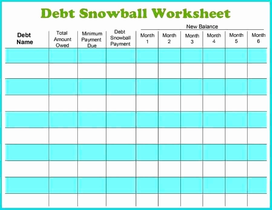 Credit Card Payoff Calculator App Elegant Free Debt Snowball Worksheet Method Calculator App Excel