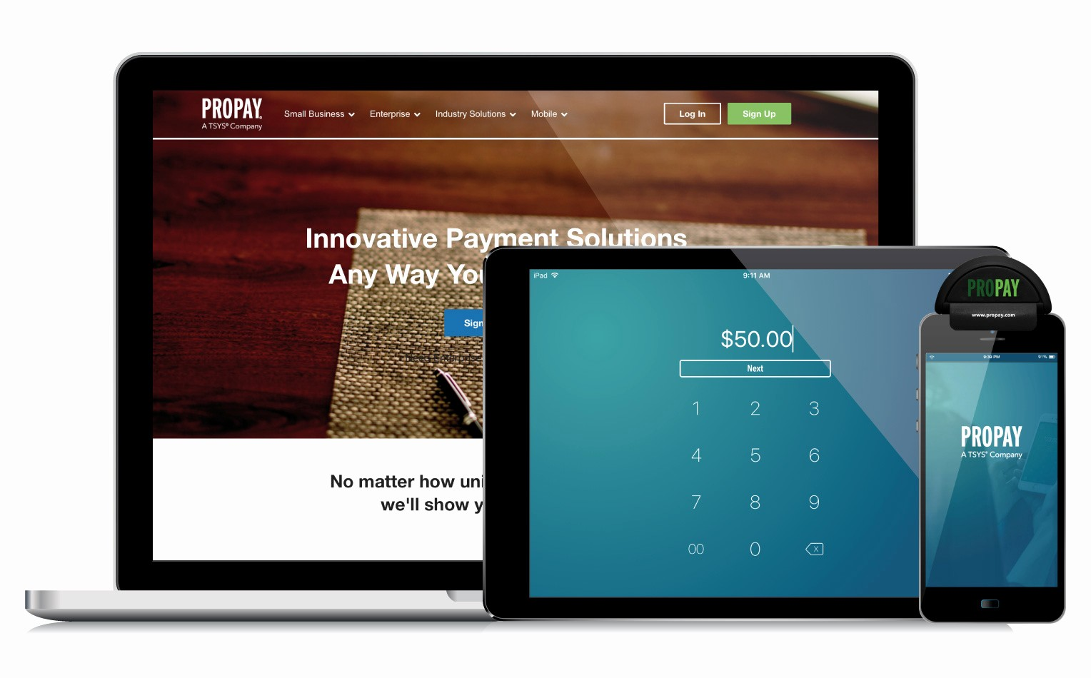 Credit Card Payoff Calculator App Luxury Accept Credit Cards Anytime Anywhere Propay Mobile
