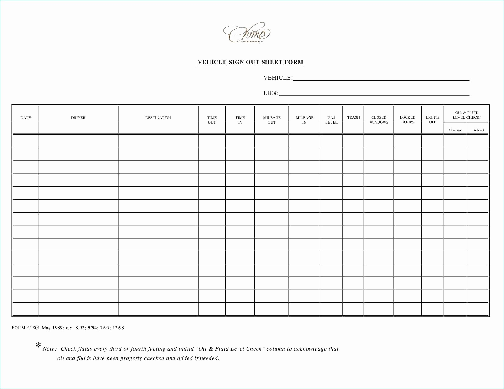 Credit Card Sign Out Sheet Lovely Great Sign In Sheet Template 26 Printable Sign