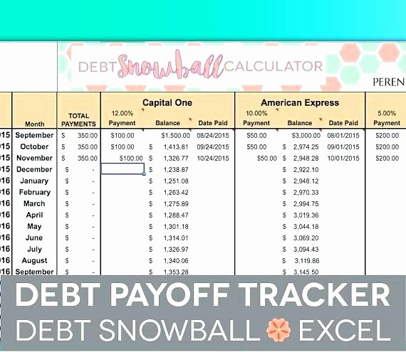 Credit Card Snowball Calculator Excel Awesome Debt Snowball Worksheet Excel Credit Card Calculator Full