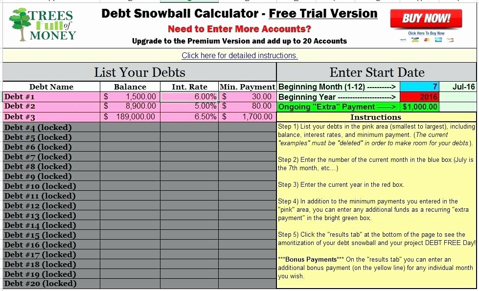 Credit Card Snowball Calculator Excel Beautiful Credit Card Debt Calculator Excel Snowball Credit Card