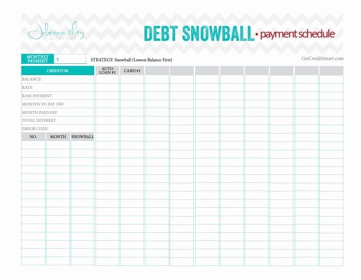 Credit Card Snowball Calculator Excel Inspirational Best 25 Debt Snowball Ideas On Pinterest