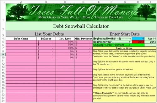 Credit Card Snowball Calculator Excel Inspirational Credit Financial Education Program University Montana