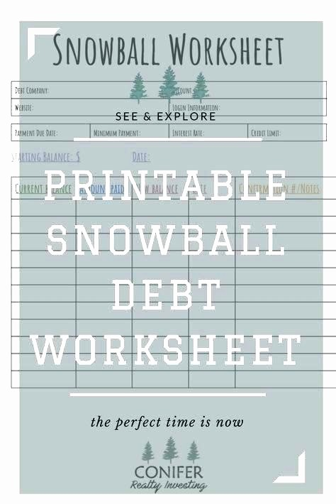 Credit Card Snowball Calculator Excel Luxury Debt Snowball Worksheet Excel Credit Card Calculator Full
