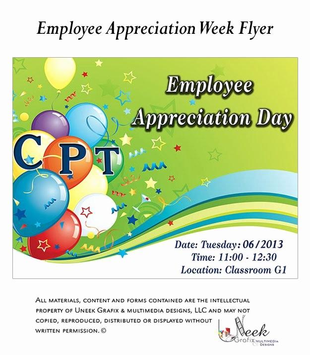 Customer Appreciation Day Flyer Template Awesome Employee Appreciation Day Flyer Template Appreciation