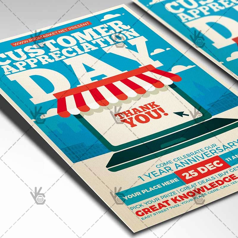 Customer Appreciation Day Flyer Template Best Of Customer Appreciation Day Business Flyer Psd Template
