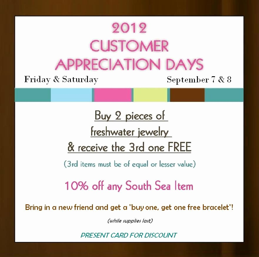 Customer Appreciation Day Flyer Template Best Of Customer Appreciation Day Invitation