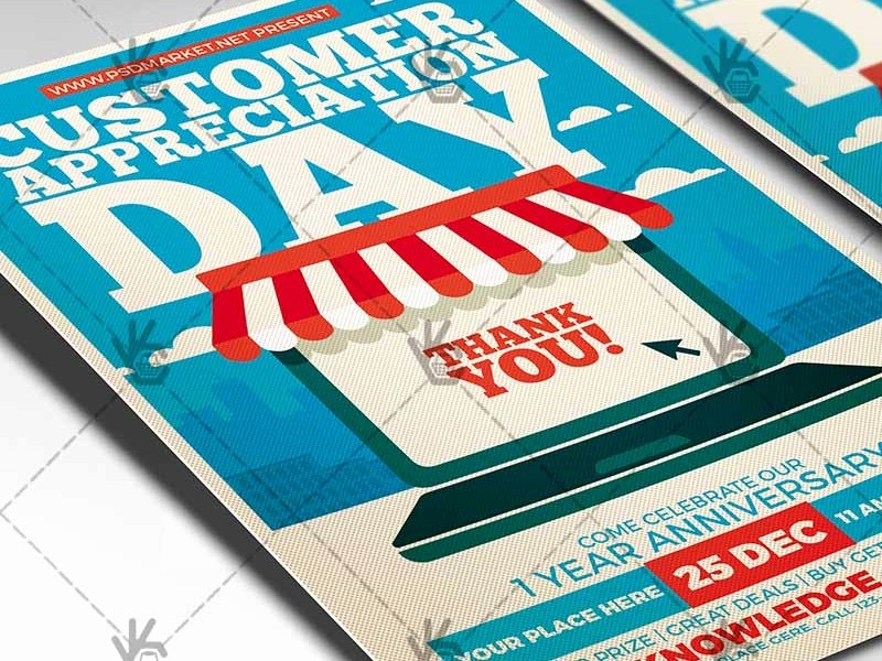 Customer Appreciation Day Flyer Template Fresh Customer Appreciation Day Business Flyer Psd Template by