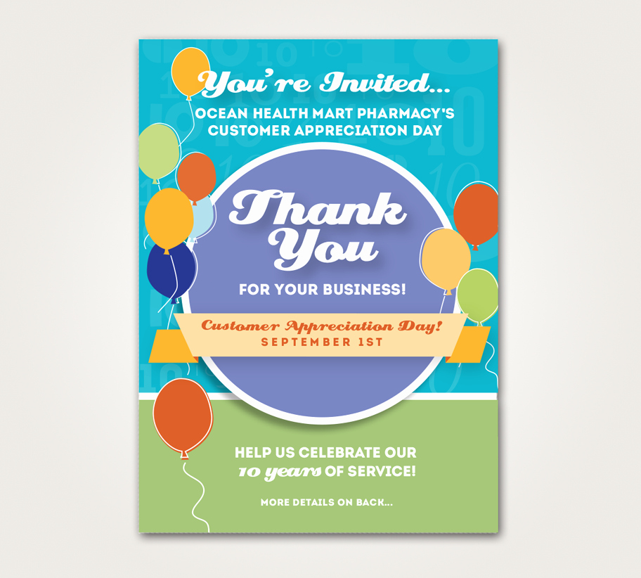 Customer Appreciation Day Flyer Template Inspirational Customer Appreciation Day Flyer Template Customer