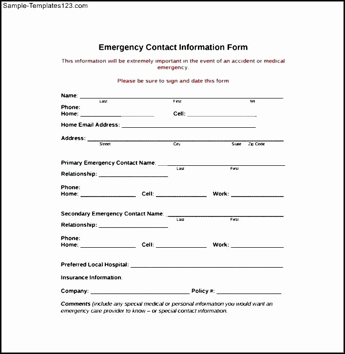 Customer Contact Information form Template Awesome Customer Contact Information form – Puebladigital