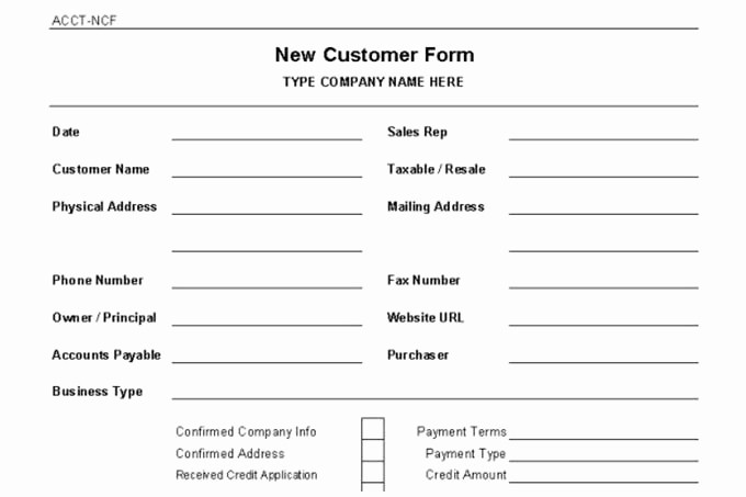Customer Contact Information form Template Best Of Accounts Receivable Controls Vitalics