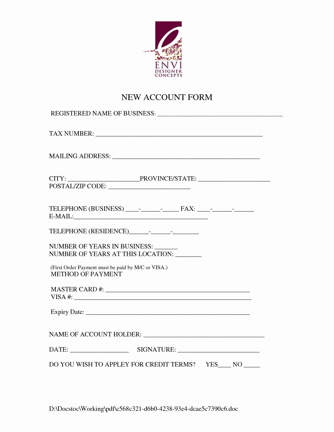 Customer Contact Information form Template Best Of Best S Of New Client Information form Template New
