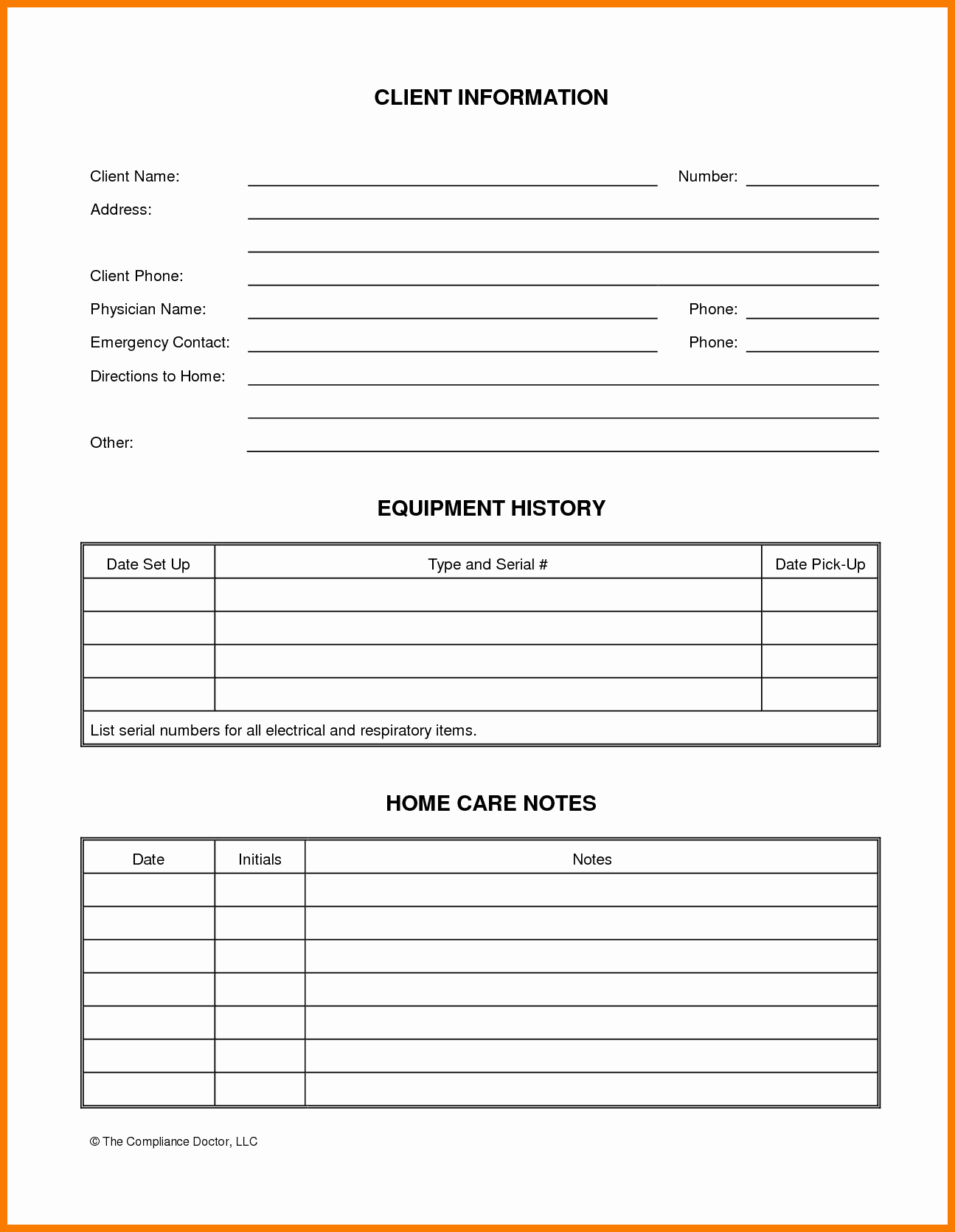 Customer Contact Information form Template Elegant Customer Information form Template