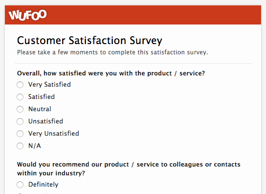 Customer Feedback form Template Word Lovely top 5 Customer Feedback and Satisfaction form Templates