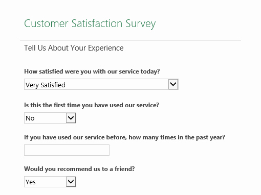Customer Feedback form Template Word Unique Customer Satisfaction Survey