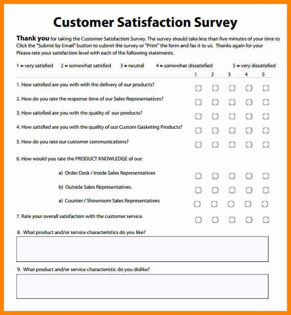 Customer Satisfaction Survey Template Free Elegant Customer Satisfaction Survey Introduction Sample